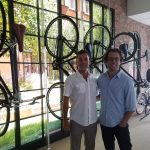 dave-weiner-and-mark-derho-at-priority-bike-headquarters-175-hudson-nyc