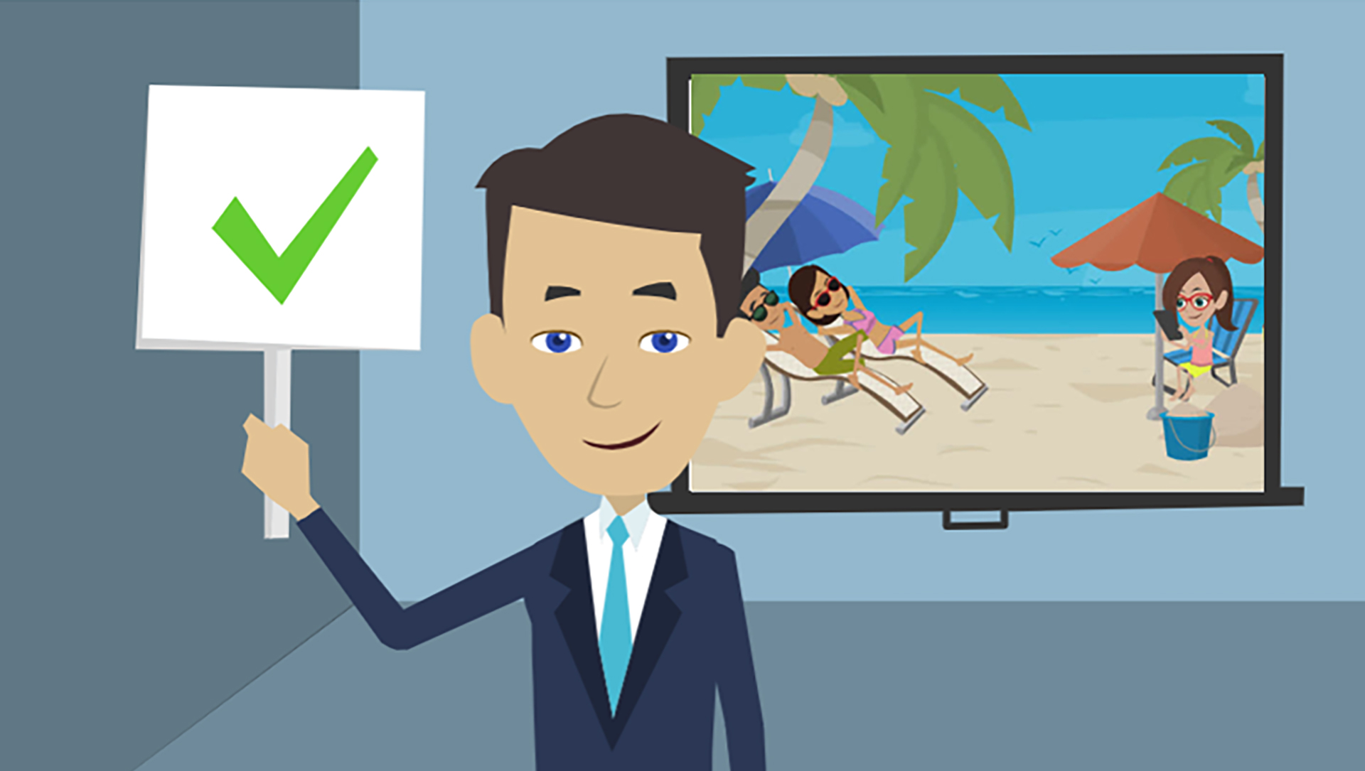 Making Animated Video for BIKE RENT PUERTO RICO with Mark Derh