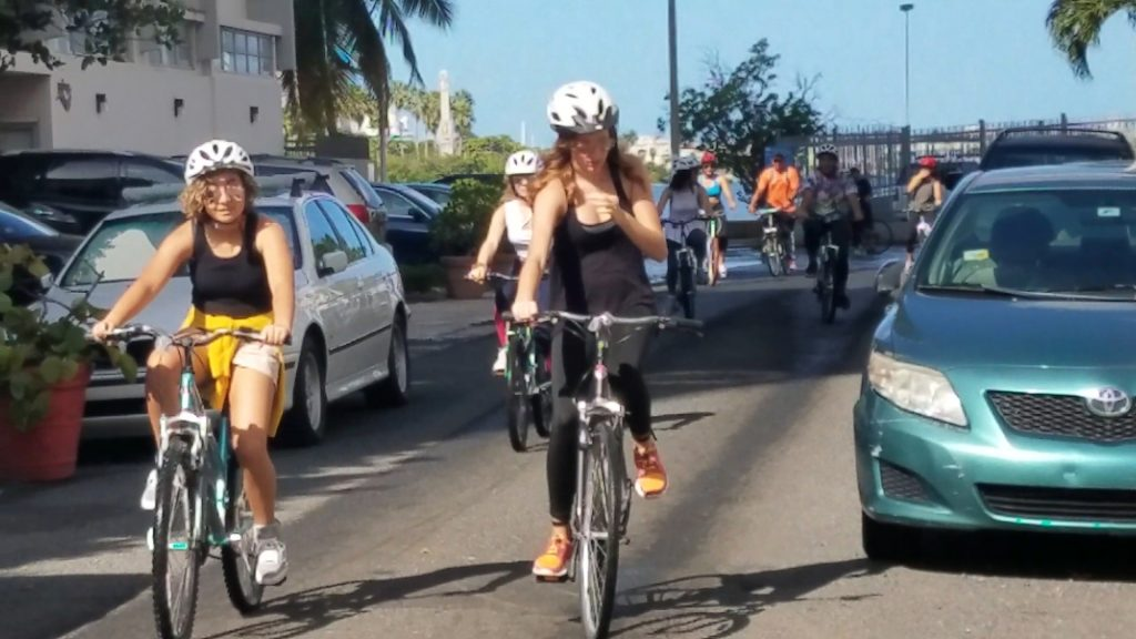 Group-Bike-Tour-San-Juan-Puerto-Rico-bike rent puerto rico